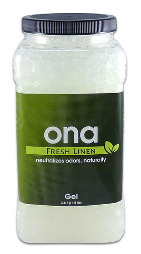 Ona Gel Fresh Linen 4 ltr pot